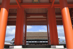 Imperial Palace Kyoto Royalty Free Stock Images