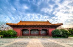 Imperial Palace of Ming Dynasty in Nanjing, China Royalty Free Stock Photography