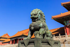 The Imperial Palace Museum, Beijing, China royalty free stock photos