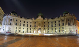 Imperial Palace at night - Vienna Royalty Free Stock Images