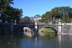 Imperial Palace and Nijubashi bridge Stock Images