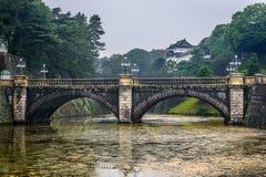 Imperial Palace & Nijubashi Bridge, Tokyo Royalty Free Stock Image