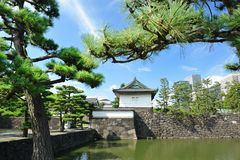Imperial palace in Tokyo Royalty Free Stock Photography