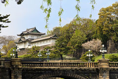 Imperial palace Tokyo stock image