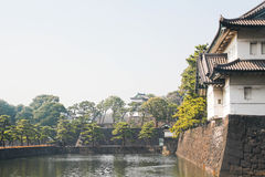 Imperial palace tokyo Stock Images