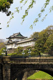 Imperial palace of Tokyo. Tokyo imperial palace (Edo castle Royalty Free Stock Images
