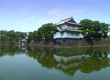 Imperial palace. In Tokyo Japan Royalty Free Stock Photo