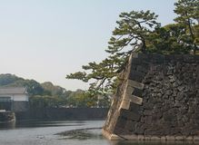 The imperial palace of Tokyo, Japan Royalty Free Stock Photography