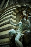 Imperial palace, Vienna. Ornate statues in the Imperial palace of Vienna stock photos