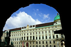 Imperial Palace, Vienna. Imperial Palace - view from Vienna, austrian capital Royalty Free Stock Image