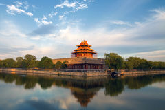 The Forbidden City Watchtower stock photo