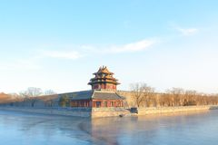 The Imperial Palace in winter. 