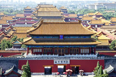 The Imperial Palace(Forbidden City) Royalty Free Stock Photos