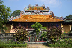 The Imperial Pavilion in the Forbidden Purple City. Hue, Vietnam Stock Photography