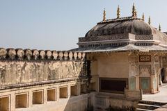 Imperial Rajput Palace Stock Image