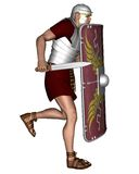 Imperial Roman Legionary Soldier - 2 Stock Photo
