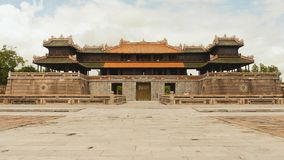 Imperial Royal Palace of Nguyen dynasty in Hue, Vietnam stock images