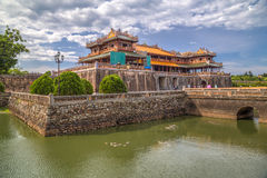 Imperial Royal Palace of Nguyen dynasty in Hue,  Vietnam Royalty Free Stock Photo