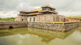 Imperial Royal Palace of Nguyen dynasty in Hue, Vietnam. royalty free stock photography