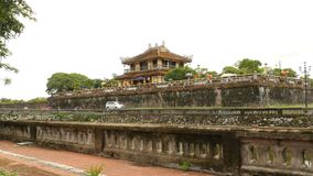 Imperial Royal Palace of Nguyen dynasty in Hue, Vietnam. stock photography