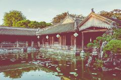 Imperial Royal Palace of Nguyen dynasty in Hue, Vietnam. Unesco. World Heritage Site stock images