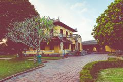 Imperial Royal Palace of Nguyen dynasty in Hue, Vietnam. Unesco. World Heritage Site royalty free stock images