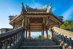 Imperial Royal Palace of Nguyen dynasty in Hue, Vietnam. Unesco. World Heritage Site stock photos