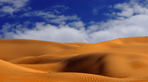 Imperial Sand Dunes Royalty Free Stock Photos