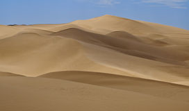 Imperial Sand Dunes, California. The Imperial Sand Dunes, also known as Algodones Dunes, in the BLM  Recreation and Wilderness Area, of Southern California Stock Photo
