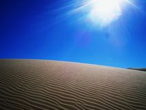 IMPERIAL SAND DUNES CALIFORNIA royalty free stock images