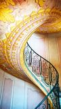 Imperial Stairs Melk Abbey, Austria. Imperial Stairs closeup in Melk Abbey, Austria Royalty Free Stock Photos