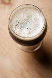 Imperial stout on wood Stock Photos