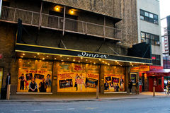 Imperial Theatre, Manhattan, NYC Stock Photos