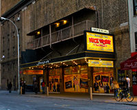 Imperial Theatre, Manhattan, NYC Royalty Free Stock Image