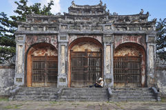 Imperial Tomb of Emperor Khai Dinh Hue - Vietnam Stock Image