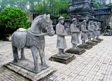 Imperial Tomb of Khai Dinh Royalty Free Stock Photo