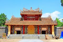 Imperial Tomb of Minh Mang, Hue Vietnam UNESCO World Heritage Site stock image