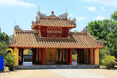 Imperial Tomb of Minh Mang, Hue Vietnam UNESCO World Heritage Site Royalty Free Stock Photos
