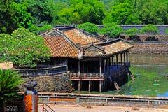 Hue Imperial Tomb of Tu Duc, Vietnam UNESCO World Heritage Site Stock Images