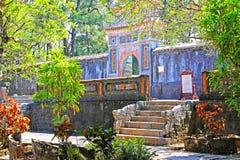 Hue Imperial Tomb of Tu Duc, Vietnam UNESCO World Heritage Site Stock Photos
