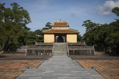 imperial tomb in vietnam Stock Image