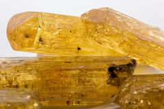 Imperial topaz Royalty Free Stock Image