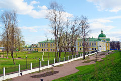 Imperial Travel Palace now an art gallery in Tver, Russia Stock Photos