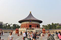 Imperial vault of heaven at Tiantan - Temple of Heaven, Beijing Royalty Free Stock Images
