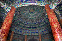 Imperial Vault Inside Temple Beijing royalty free stock photos