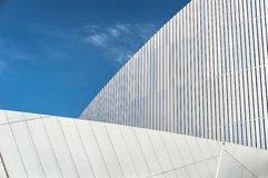 Imperial War Museum Detail, Salford Quays, Greater Manchester, U Stock Images