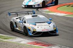 Imperiale Racing Lamborghini Gallardo Italian GT 2015 at Monza Stock Images