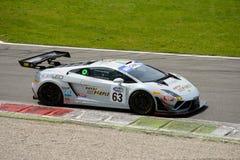 Imperiale Racing Lamborghini Gallardo Italian GT 2015 at Monza Royalty Free Stock Image