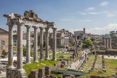 Imperiali di fori di Roma Immagine Stock