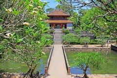 Imperialistisk gravvalv av Minh Mang Hue, Vietnam UNESCOvärldsarv Arkivbilder